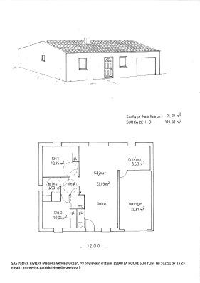 Plan de maison vendeenne gratuit for Plan maison vendeenne gratuit