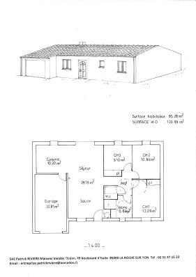 plan de maison vendéenne